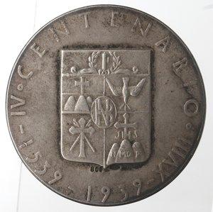 reverse: Medaglie fasciste. Medaglia Napoli. 1939. Banco di Napoli. Ag.