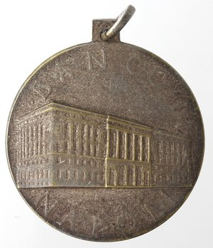 obverse: Medaglie fasciste. Medaglia Napoli. 1939. Banco di Napoli. MB.
