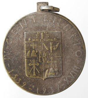 reverse: Medaglie fasciste. Medaglia Napoli. 1939. Banco di Napoli. MB.