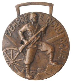 reverse: Medaglie fasciste. Roma. Medaglia 1937 A. XV. Ae.