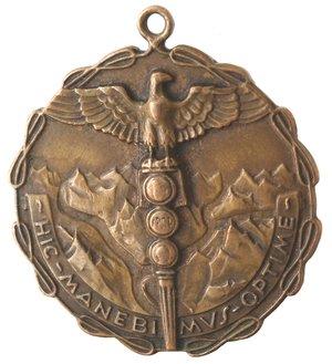 reverse: Medaglie fasciste. IV Corpo d Armata. Ae.