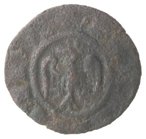 reverse: Messina. Federico II. 1197-1250. Denaro. Mi.