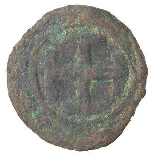 reverse: Napoli. Giovanna la Pazza con il figlio Carlo. 1516-1519. Sestino. Ae.