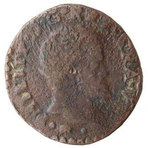 obverse: Napoli. Filippo II. 1554-1598. Tornese 1585?. Ae.