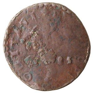 reverse: Napoli. Filippo II. 1554-1598. Tornese 1585?. Ae.