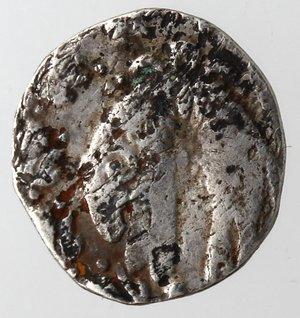 reverse: Napoli. Filippo IIII. Mezzo Carlino. Ag.