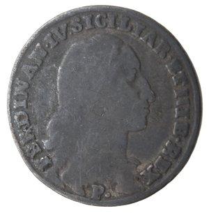 obverse: Napoli. Ferdinando IV. Tarì 1795. Ag.