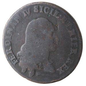 obverse: Napoli. Ferdinando IV. Pubblica 1789. Ae.