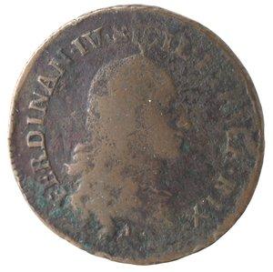obverse: Napoli. Ferdinando IV. Pubblica 1791. Ae.