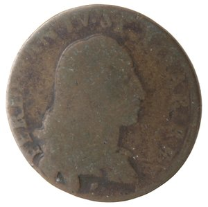 obverse: Napoli. Ferdinando IV. 1 Grano Cavalli 12 1789.