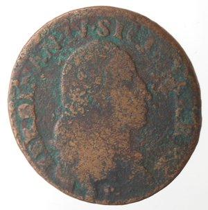 obverse: Napoli. Ferdinando IV. 1 Grano Cavalli 12 1789. Ae.