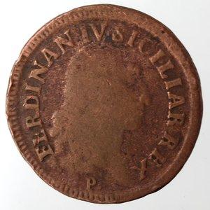 obverse: Napoli. Ferdinando IV. 1 Grano Cavalli 12 1792. Ae.