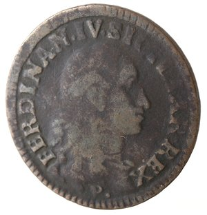 obverse: Napoli. Ferdinando IV. 1 Grano Cavalli 12 1793. Ae.