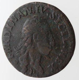 obverse: Napoli. Ferdinando IV. 3 Cavalli 1792. Ae.