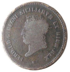 obverse: Napoli. Ferdinando I. 5 Tornesi 1819. Ae.