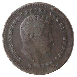 obverse: Napoli. Ferdinando II. 2 Tornesi 1843. Ae.