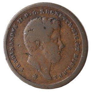 obverse: Napoli. Ferdinando II. 2 Tornesi 1857. Ae.