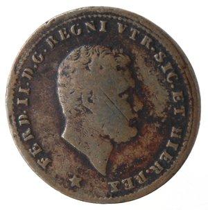 obverse: Napoli. Ferdinando II. Tornese 1852. Ae.