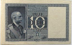 obverse: Banconote. Regno d Italia. 10 Lire. Impero. 1935 XIII. 18/06/1935.