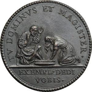 reverse: Innocenzo X (1644-1655), Giovanni Battista Pamphili di Roma. Medaglia A. VI, per la Lavanda