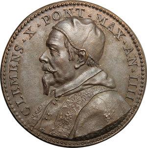 obverse: Clemente X (1670-1676), Emilio Bonaventura Altieri di Roma. Medaglia A. IIII