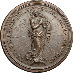 reverse: Clemente X (1670-1676), Emilio Bonaventura Altieri di Roma. Medaglia A. IIII