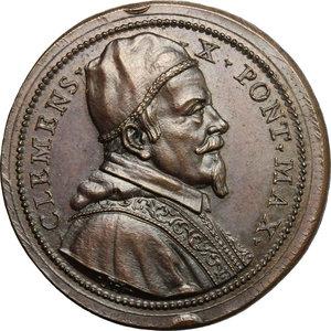 obverse: Clemente X (1670-1676), Emilio Bonaventura Altieri di Roma. Medaglia s.d