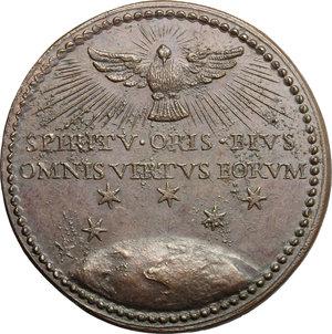 reverse: Clemente X (1670-1676), Emilio Bonaventura Altieri di Roma. Medaglia s.d