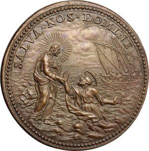 reverse: Innocenzo XI (1676-1689), Benedetto Odescalchi di Como.. Medaglia annuale, A. I