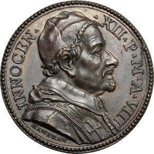 obverse: Innocenzo XII (1691-1700), Antonio Pignatelli di Spinazzola. Medaglia A. VIII, per la Lavanda