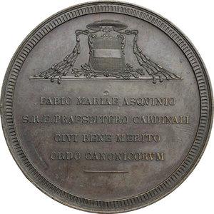 reverse: Pio IX  (1846-1878), Giovanni Mastai Ferretti di Senigallia. Medaglia 1847