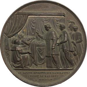 reverse: Pio IX  (1846-1878), Giovanni Mastai Ferretti di Senigallia. Medaglia annuale, A. X