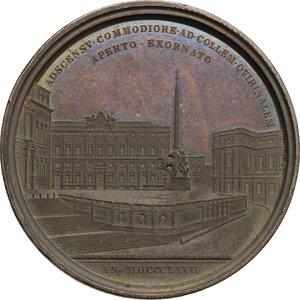reverse: Pio IX  (1846-1878), Giovanni Mastai Ferretti di Senigallia. Medaglia A. XXII, 1867