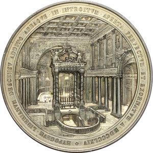 reverse: Pio IX  (1846-1878), Giovanni Mastai Ferretti. Medaglia di massimo modulo, A. XXIX, 1874