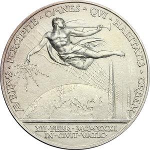 reverse: Pio XI (1922-1939), Achille Ratti di Desio.. Medaglia annuale, A. X