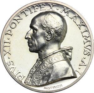 obverse: Pio XII (1939-1959), Eugenio Pacelli di Roma. . Medaglia annuale, A. I