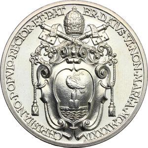 reverse: Pio XII (1939-1959), Eugenio Pacelli di Roma. . Medaglia annuale, A. I