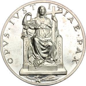 reverse: Pio XII (1939-1959), Eugenio Pacelli di Roma. . Medaglia annuale, A. II
