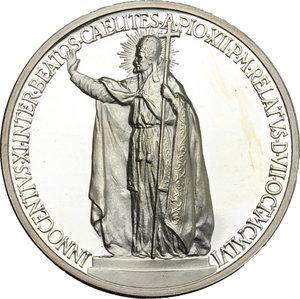 reverse: Pio XII (1939-1959), Eugenio Pacelli di Roma. . Medaglia annuale, A. XIX
