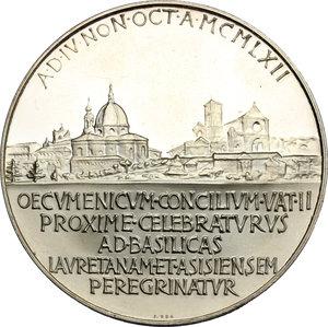 reverse: Giovanni XXIII (1958-1963), Angelo Roncalli di Sotto il Monte.. Medaglia annuale, A. V