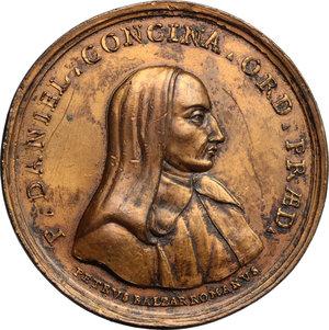 obverse: Daniello Concina (1687-1756), predicatore domenicano di Udine.. Medaglia s. d. (1789)