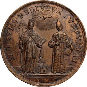 reverse: Daniello Concina (1687-1756), predicatore domenicano di Udine.. Medaglia s. d. (1789)
