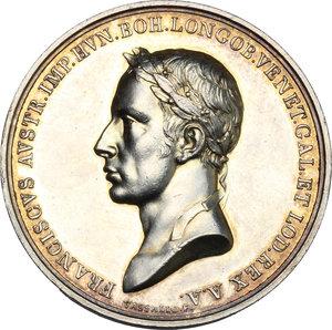 obverse: Francesco I d Asburgo e Lorena (1815-1835). Medaglia 1815 per il Giuramento delle Province Lombarde