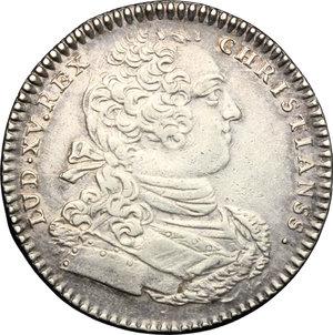 obverse: France.  Louis XV (1715-1774). Token Artillerie et Genie