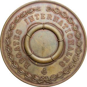 reverse: France. Commemorative medal 1891 comittè des fètes de Nice