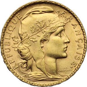 obverse: France.  Third republic (1871-1940).. 20 francs 1903