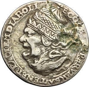 obverse: Germany. Satirical Anti-Catholic medal, late 16th century