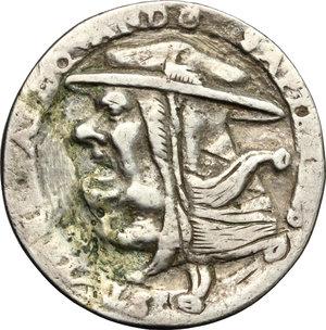 reverse: Germany. Satirical Anti-Catholic medal, late 16th century