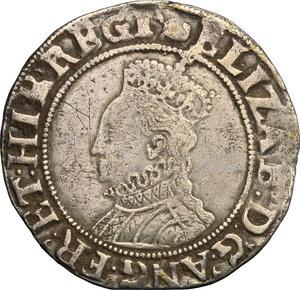 obverse: Great Britain.  Elizabeth I (1558-1603).. Shilling, London mint