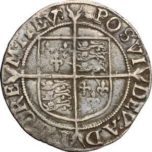 reverse: Great Britain.  Elizabeth I (1558-1603).. Shilling, London mint
